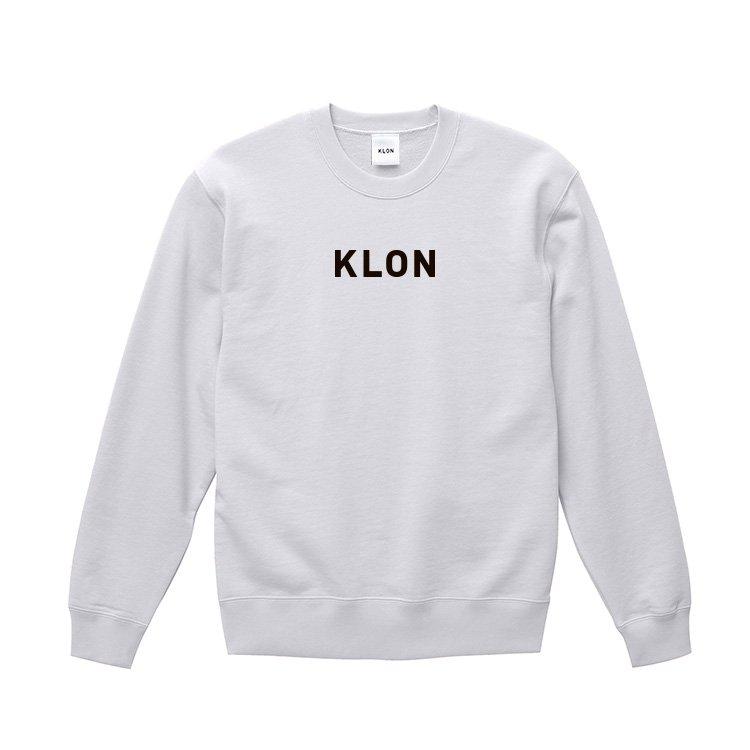 KLON SWEAT LOGOTYPE WHITE