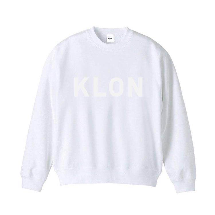 KLON SWEAT HIDE LOGO WHITE