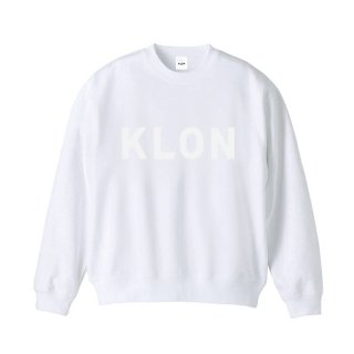 KLON SWEAT HIDE LOGO WHITE