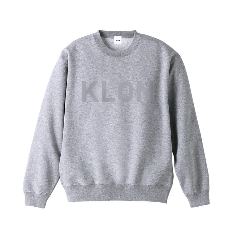 KLON SWEAT HIDE LOGO GRAY