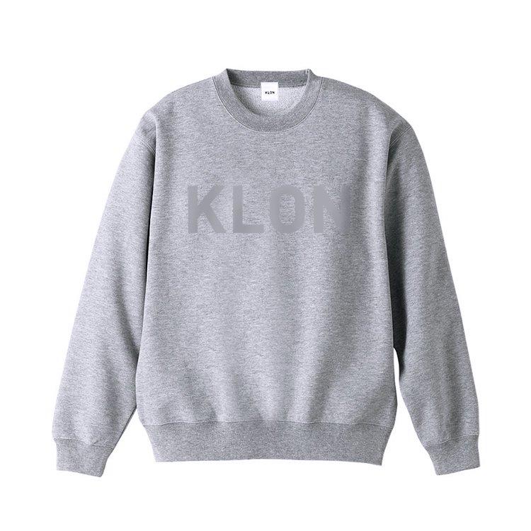 KLON SWEAT HIDE LOGO GRAY