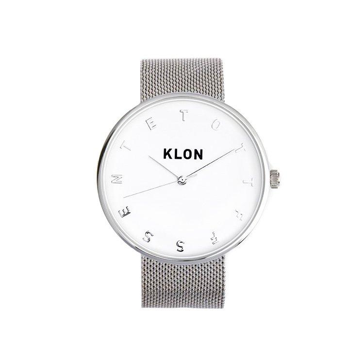KLON ALPHABET TIME -SILVER MESH- Ver.SILVER 40mm