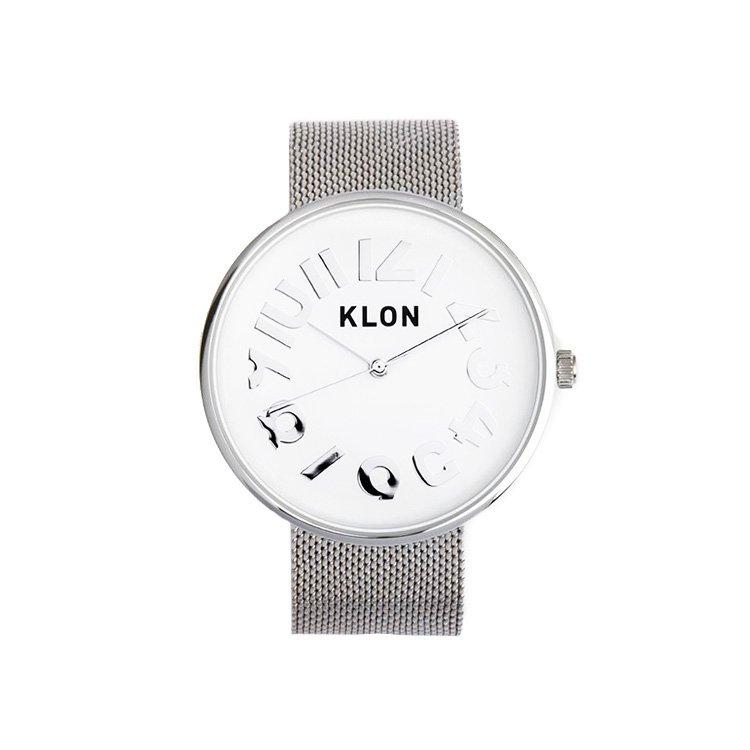 【入荷日未定】KLON HIDE TIME -SILVER MESH- Ver.SILVER 40mm