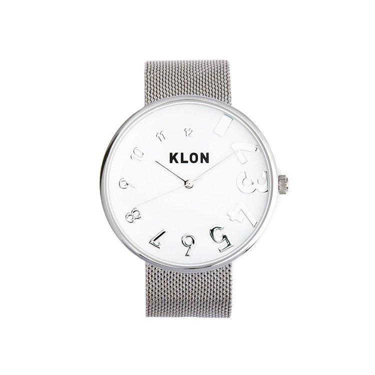 【入荷日未定】KLON EDDY TIME -SILVER MESH- Ver.SILVER 40mm