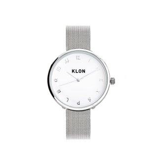 KLON MOCK NUMBER -SILVER MESH- Ver.SILVER 33mm