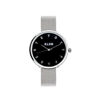 KLON ALPHABET TIME -SILVER MESH-【BLACK SURFACE】Ver.SILVER 33mm