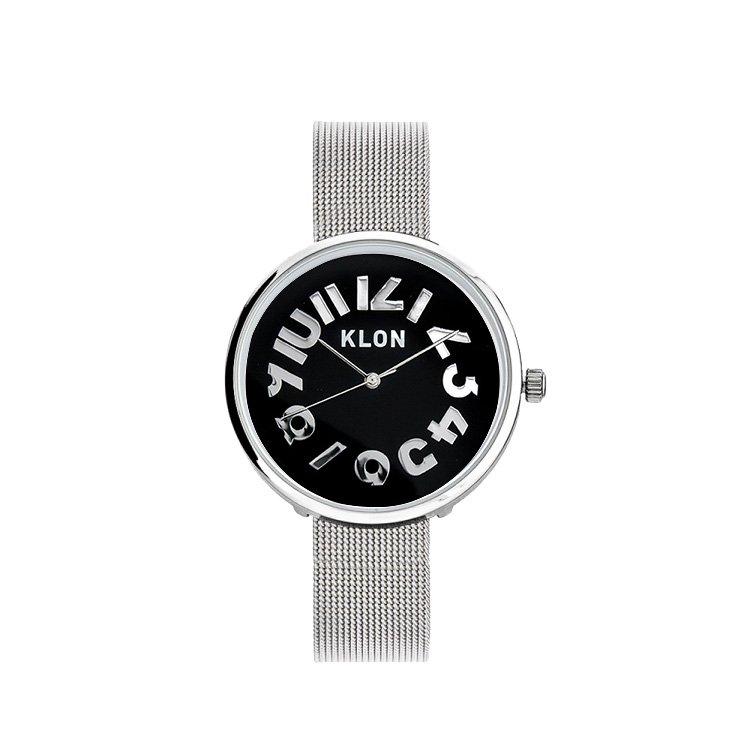 KLON HIDE TIME -SILVER MESH- Ver.SILVER 【BLACK SURFACE】 33mm
