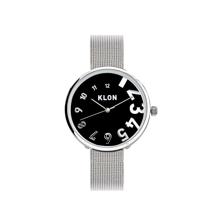 KLON EDDY TIME -SILVER MESH- 【BLACK SURFACE】 Ver.SILVER 33mm