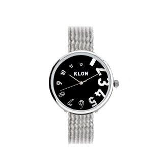 KLON EDDY TIME -SILVER MESH-【BLACK SURFACE】Ver.SILVER 33mm