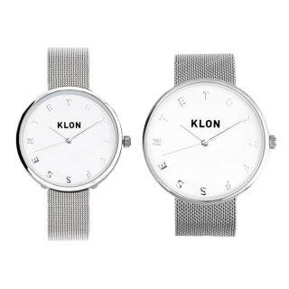 【組合せ商品】KLON ALPHABET TIME -SILVER MESH- Ver.SILVER(40mm×33mm)