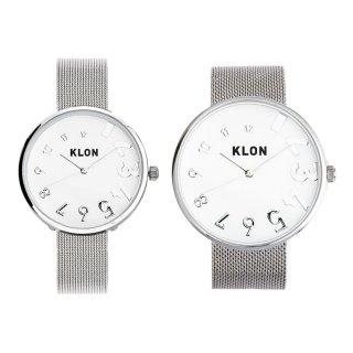 【組合せ商品】KLON EDDY TIME -SILVER MESH- Ver.SILVER(40mm×33mm)