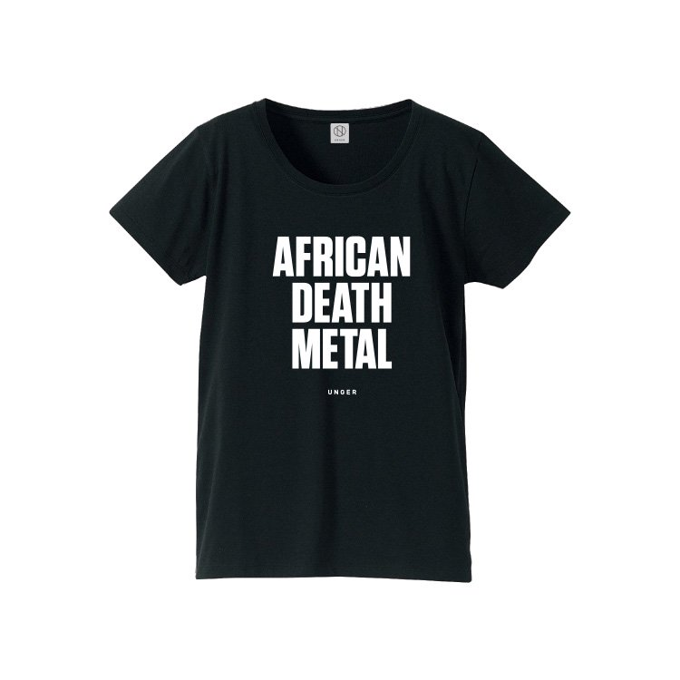 UNGER AFRICAN DEATH METAL (WOMENS BLACK)
