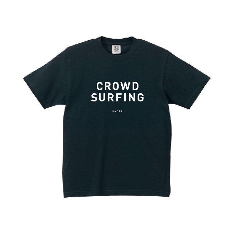 【30%OFF】UNGER CROWD SURFING(MENS BLACK)