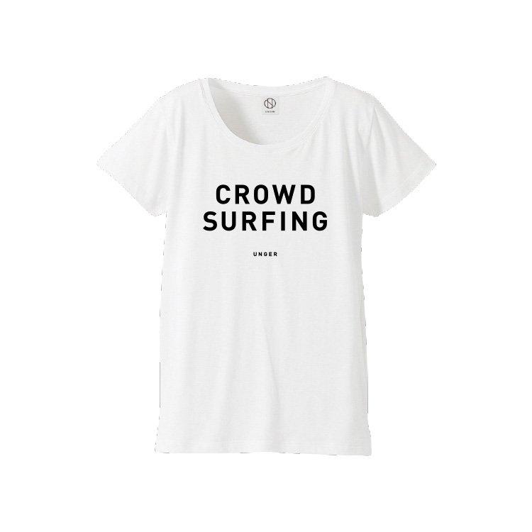 UNGER CROWD SURFING(WOMENS WHITE)
