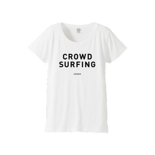 UNGER CROWD SURFING(WOMENS WHITE)