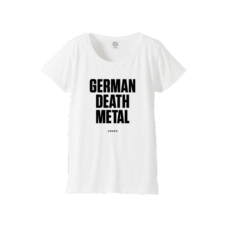 UNGER GERMAN DEATH METAL (WOMENS WHITE)
