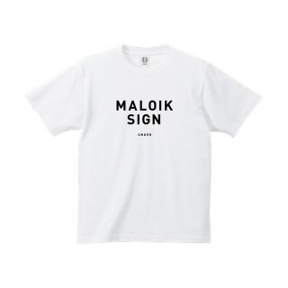 UNGER MALOIK SIGN (MENS WHITE)