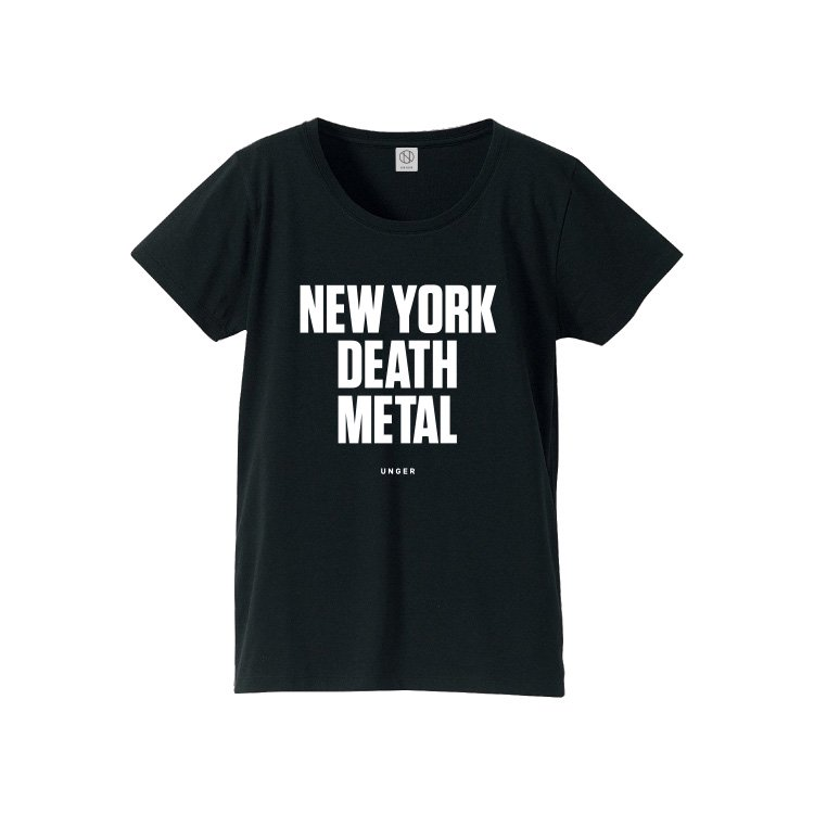 【30%OFF】UNGER NEW YORK DEATH METAL (WOMENS BLACK)