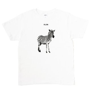 KLON Tshirts MONOCHROME ANIMALS-ZEBRA
