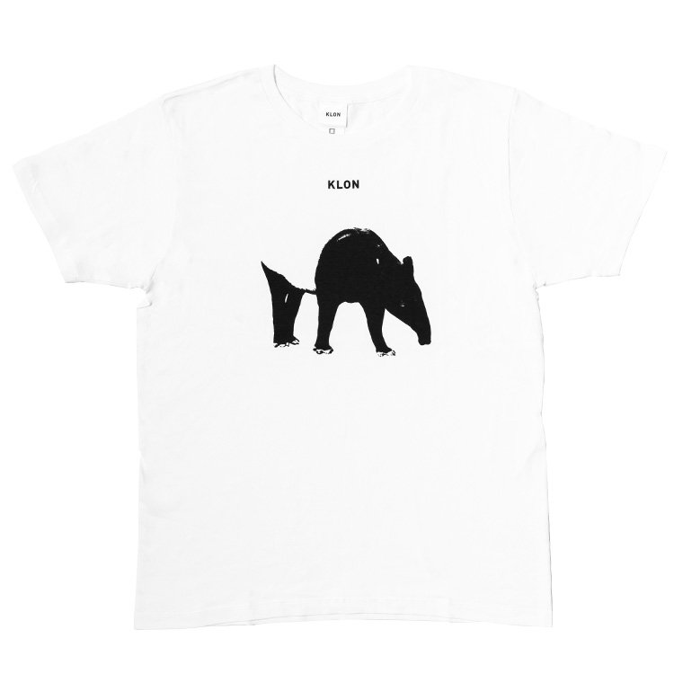 KLON Tshirts MONOCHROME ANIMALS-TAPIR