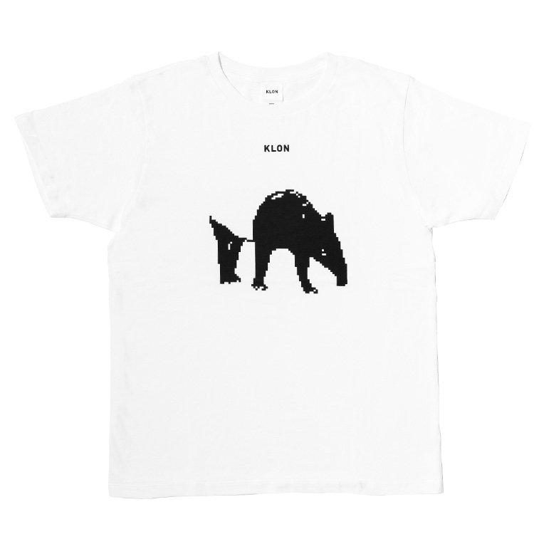 KLON Tshirts MONOCHROME ANIMALS-TAPIR-Ver.PIXEL