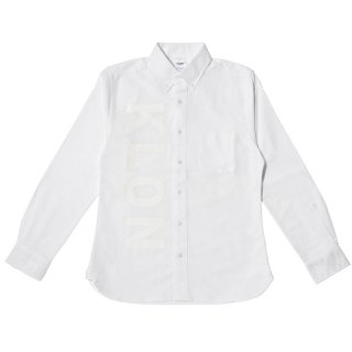 KLON OX SHIRTS WHITE(VERTICAL LOGO)