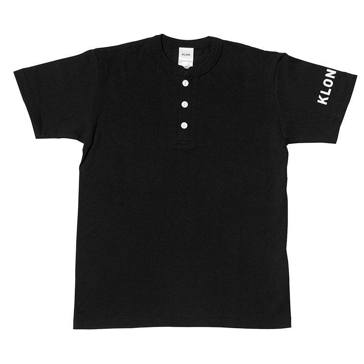 KLON HENRY NECK T-SHIRTS BLACK