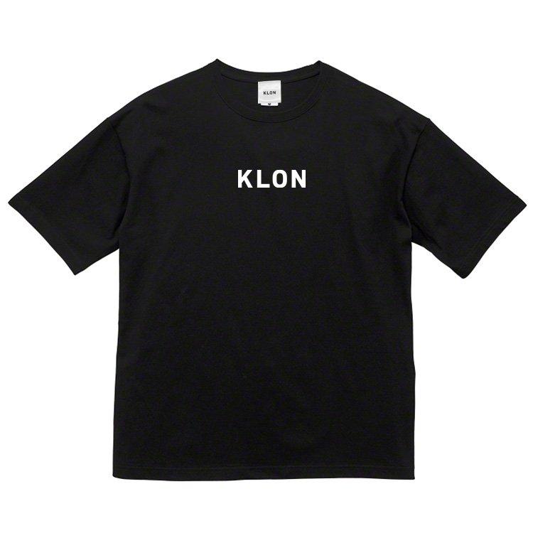 KLON OVERSIZE T-SHIRTS BLACK