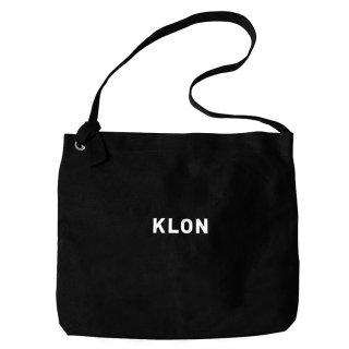 KLON CANVAS SHOULDER BLACK