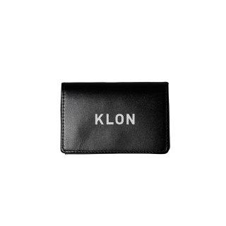 KLON TRIFOLD WALLET BLACK