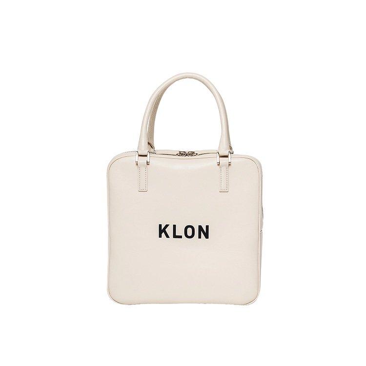 KLON ACTIVE LEATHER BAG SQUARE TYPE WHITE