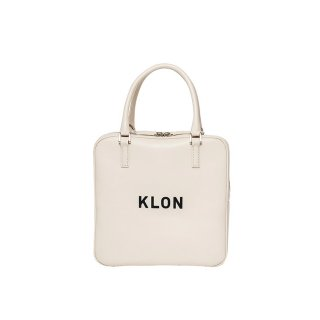 KLON ACTIVE LEATHER BAG SQUARE TYPE WHITE
