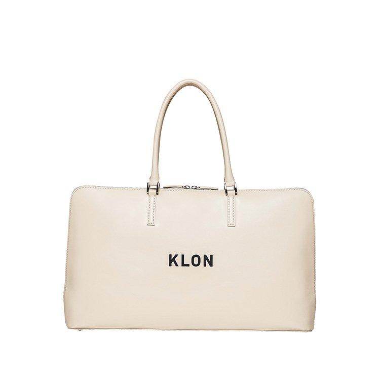 KLON ACTIVE LEATHER BAG BRIEFCASE TYPE WHITE