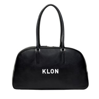 KLON ACTIVE LEATHER BAG BOSTON TYPE BLACK