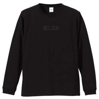KLON LONG T FRAME LOGO BLACK