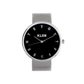 KLON ALPHABET TIME -SILVER MESH- 【BLACK SURFACE】 Ver.SILVER 40mm