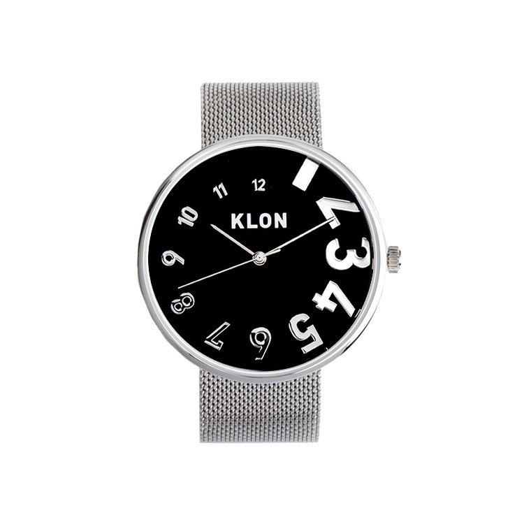 KLON EDDY TIME -SILVER MESH- 【BLACK SURFACE】 Ver.SILVER 40mm