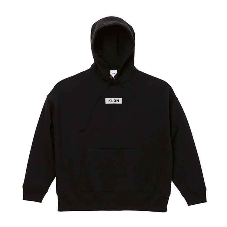 KLON BIG PARKA BLACK(BOX LOGO)
