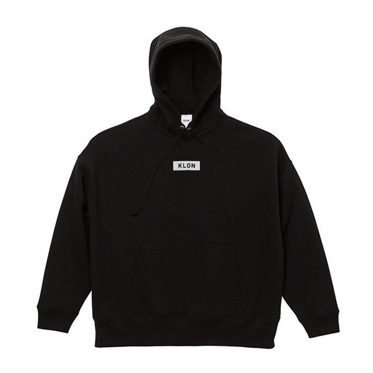 KLON BIG PARKA BLACK(BOX LOGO)