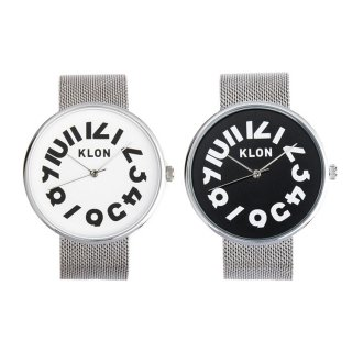 【組合せ商品】KLON HIDE TIME -SILVER MESH- PAIR WATCH 40mm
