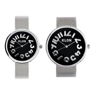 【組合せ商品】KLON HIDE TIME -SILVER MESH- 【BLACK SURFACE】 Ver.SILVER(40mm×33mm)