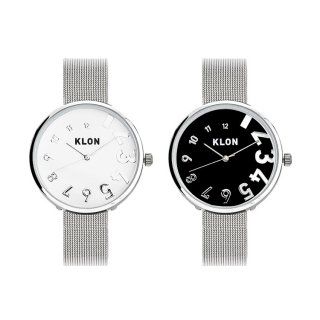 【組合せ商品】KLON EDDY TIME -SILVER MESH- Ver.SILVER PAIR WATCH 33mm