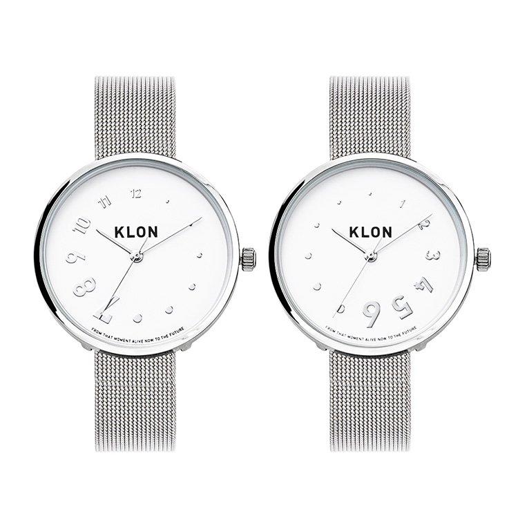 KLON EDDY TIME REINCARNATION -SILVER MESH- 38mm