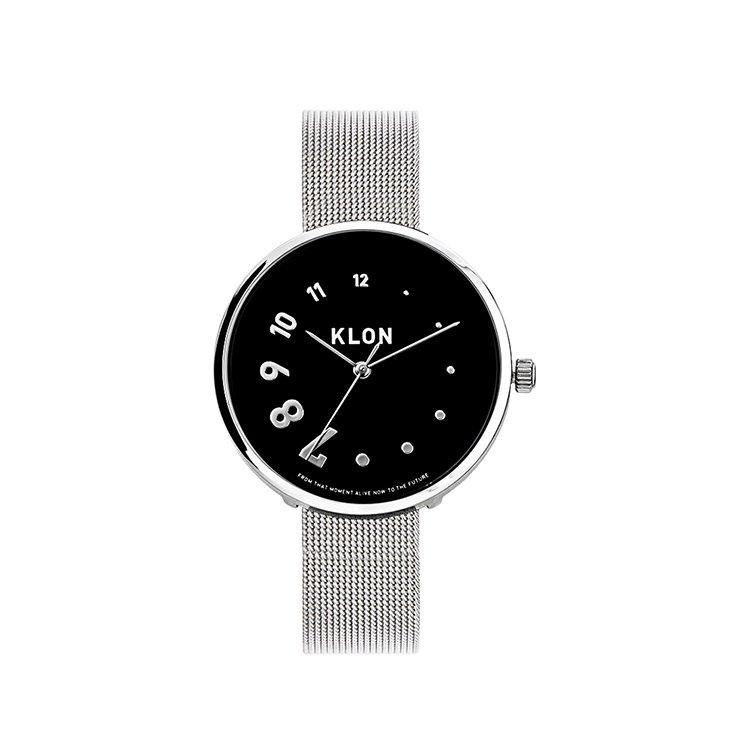 KLON EDDY TIME REINCARNATION AHEAD -SILVER MESH-【BLACK SURFACE】 38mm