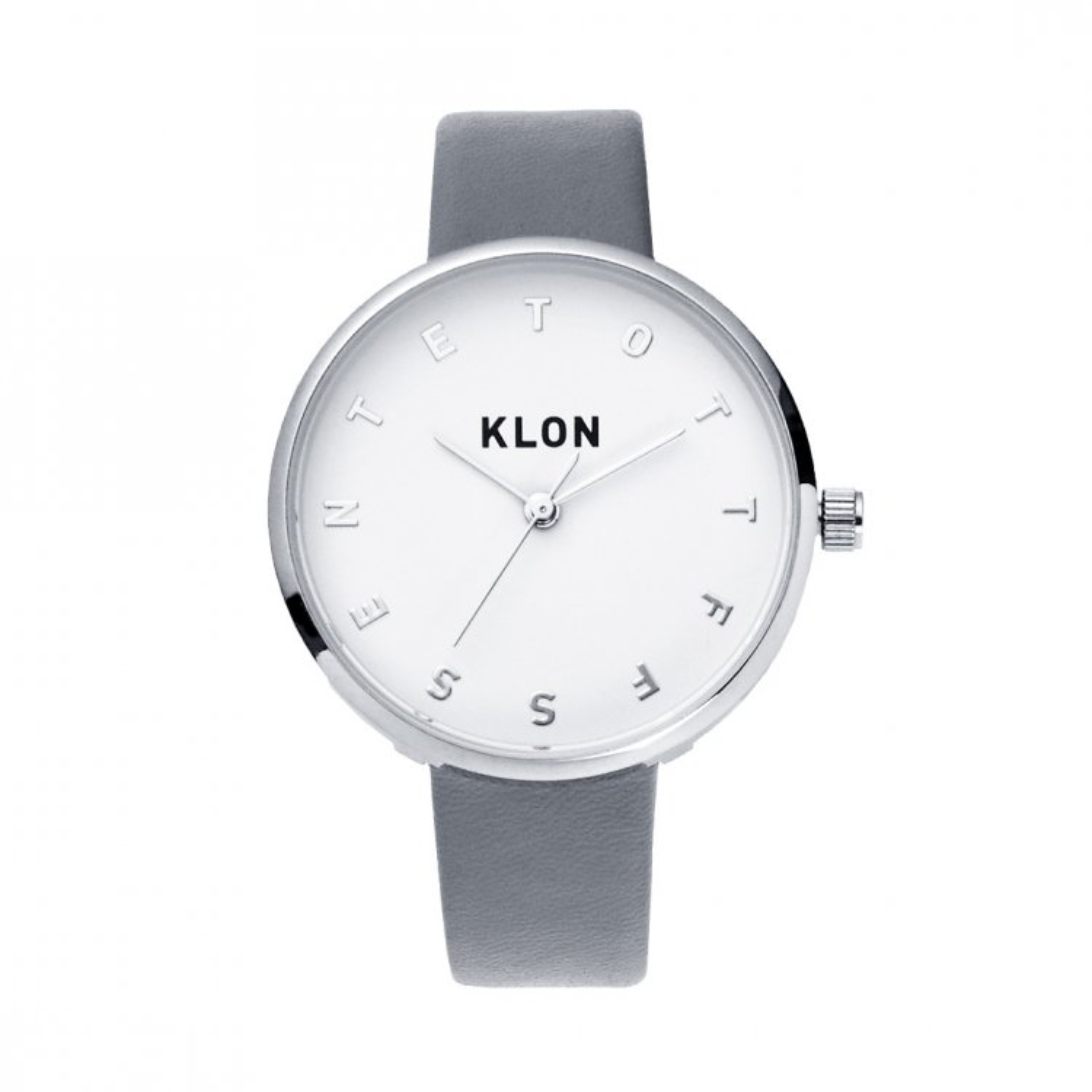 KLON ALPHABET TIME GRAY Ver.SILVER 33mm