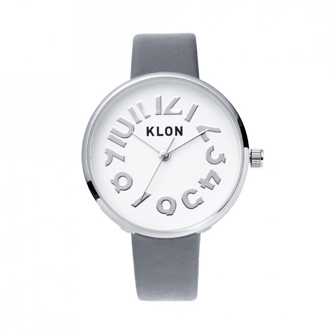 KLON HIDE TIME GRAY Ver.SILVER 33mm