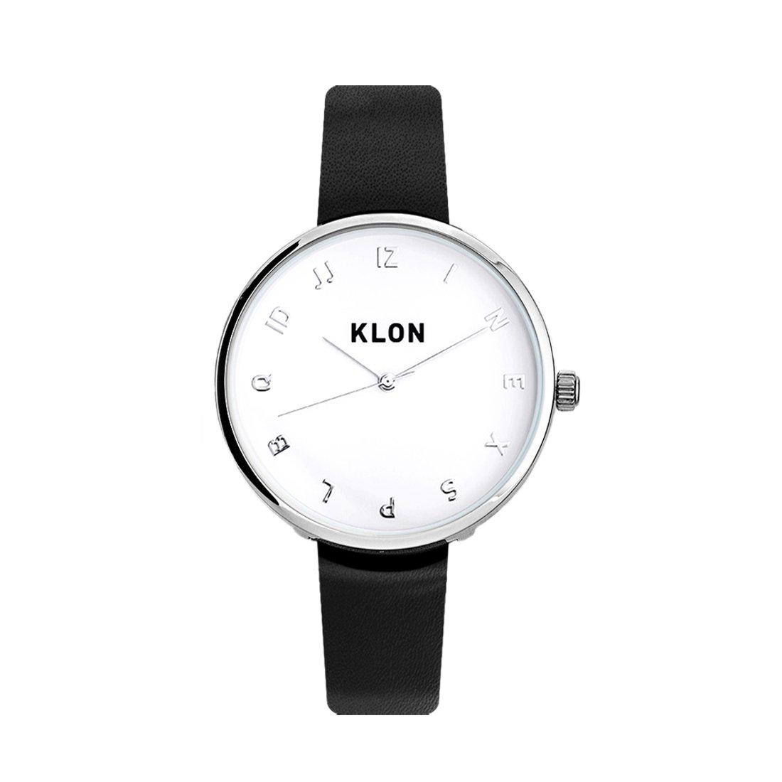 KLON MOCK NUMBER BLACK Ver.SILVER 33mm