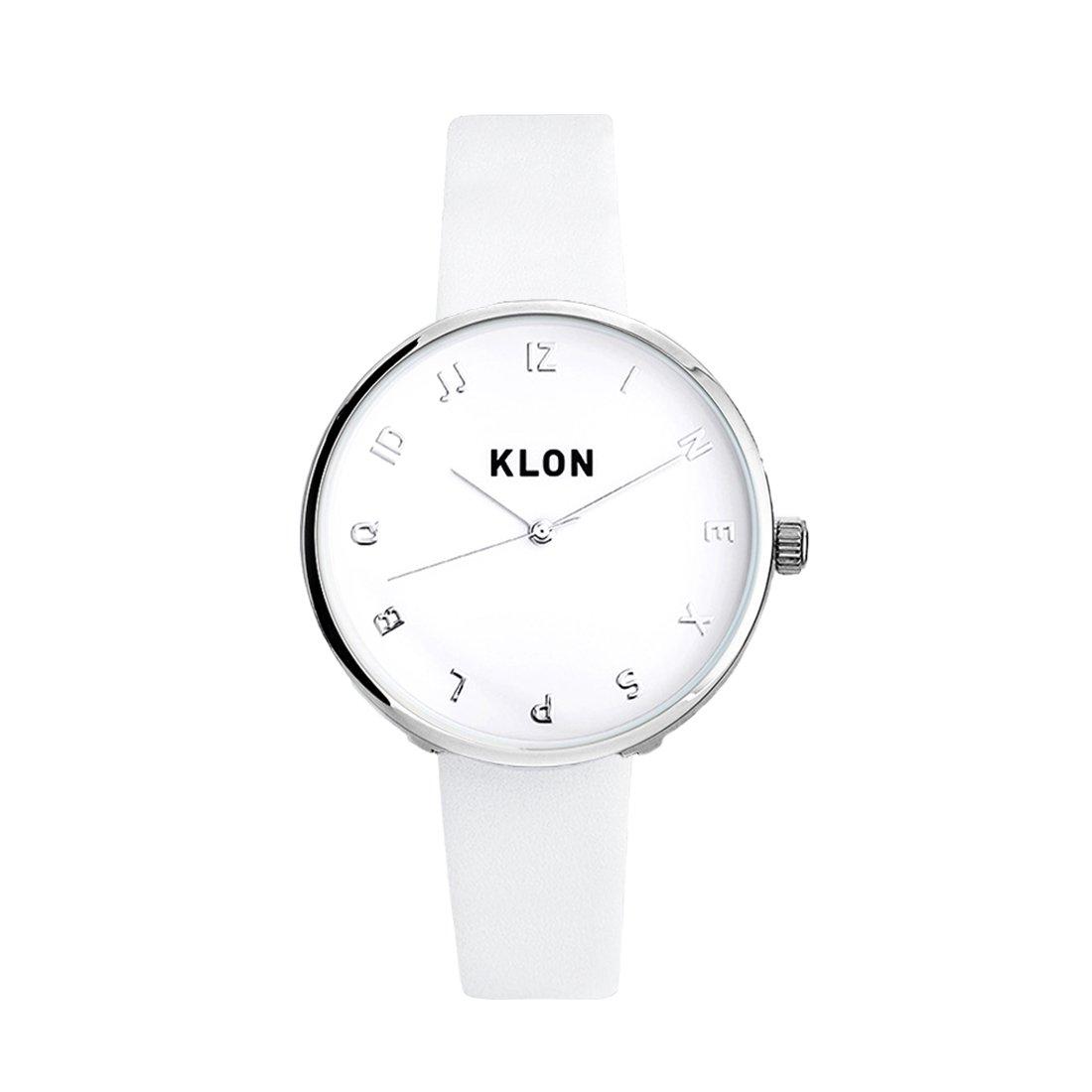KLON MOCK NUMBER WHITE Ver.SILVER 33mm
