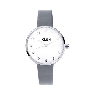 KLON MOCK NUMBER GRAY Ver.SILVER 33mm