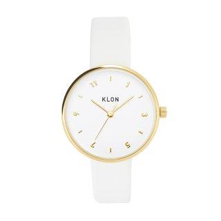 KLON PASS TIME ELFIN ODD GOLD MODEL WHITE 33mm